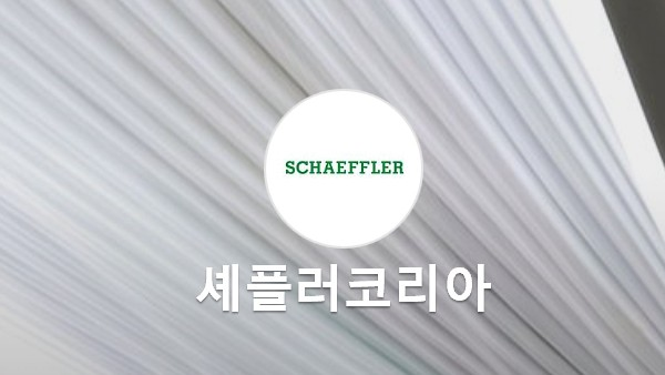 Schaeffler on Naver Post