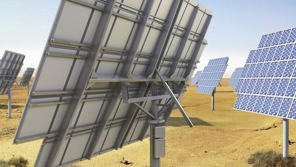 트래킹 시스템을 갖춘 태양광발전 설비