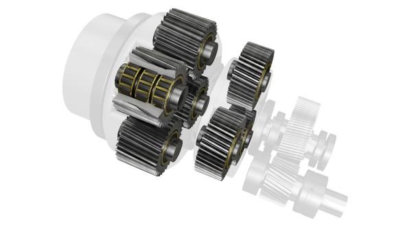 유성 기어 베어링 서포트(Planet gear bearing supports)