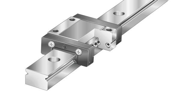 셰플러 리니어 가이드(linear guides): 복열 미니어처 리니어 볼 베어링 (Double-row miniature linear ball bearing)과 가이드웨이 어셈블리 (guideway assemblies)