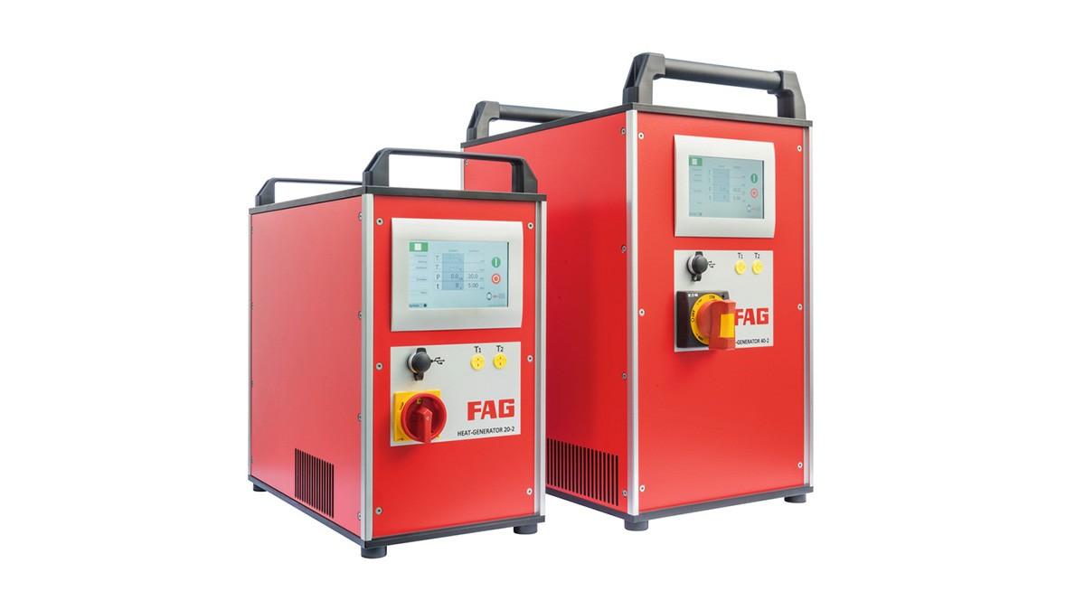 셰플러 유지보수 제품: 중간 주파수 기술 (medium-frequency technology)이 적용된 유도 유니트