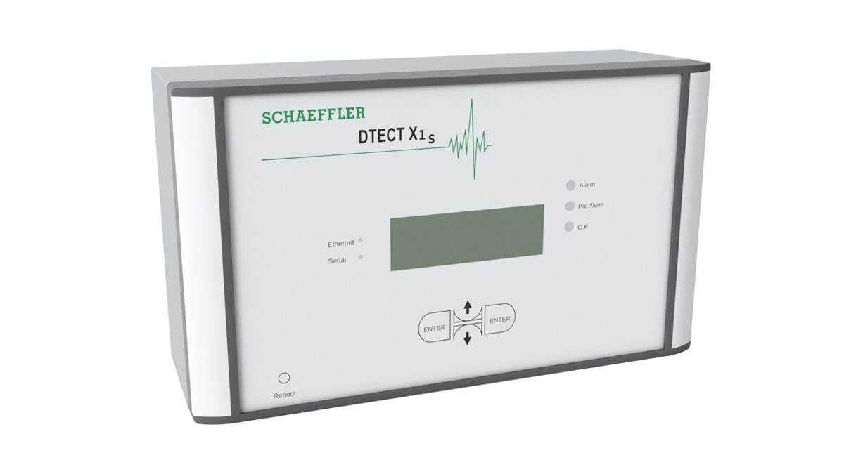 FAG DTECT X1은 기계 및 설비 산업의 회전 부품과 장치를 모니터링하는 온라인 시스템입니다.
