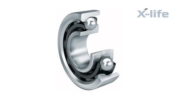 구름 베어링과 플레인 베어링 앵귤러 콘택트 볼 베어링 (Angular contact ball bearings)