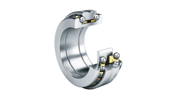 구름 베어링과 플레인 베어링: 액셜 앵귤러 콘택트 볼 베어링 (Axial angular contact ball bearings)