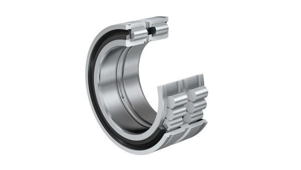 셰플러 구름 베어링과 플레인 베어링: 스냅 링 홈이 있는 풀 컴플리멘트 원통 롤러 베어링 (Full-complement cylindrical roller bearing)