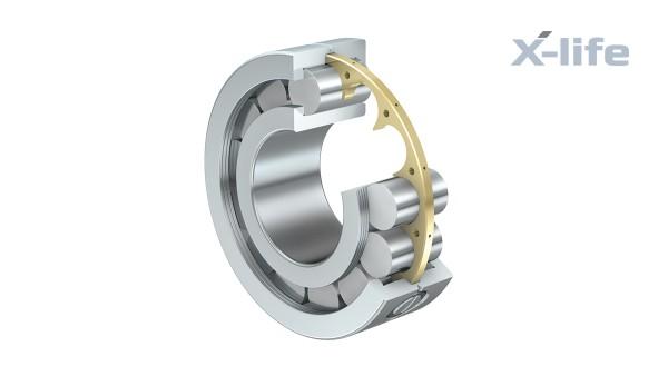 셰플러 구름 베어링과 플레인 베어링: 저마찰 원통 롤러 베어링 (Low-friction cylindrical roller bearings)