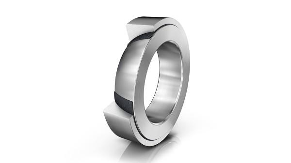 셰플러 구름 베어링과 플레인 베어링: 앵귤러 콘택트 스페리컬 플레인 베어링 (Angular-contact spherical plain bearings)