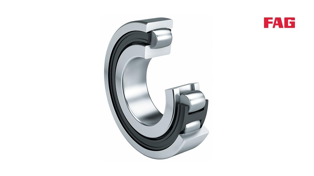 셰플러 구름 베어링과 플레인 베어링: 배럴 롤러 베어링 (Barrel roller bearings)