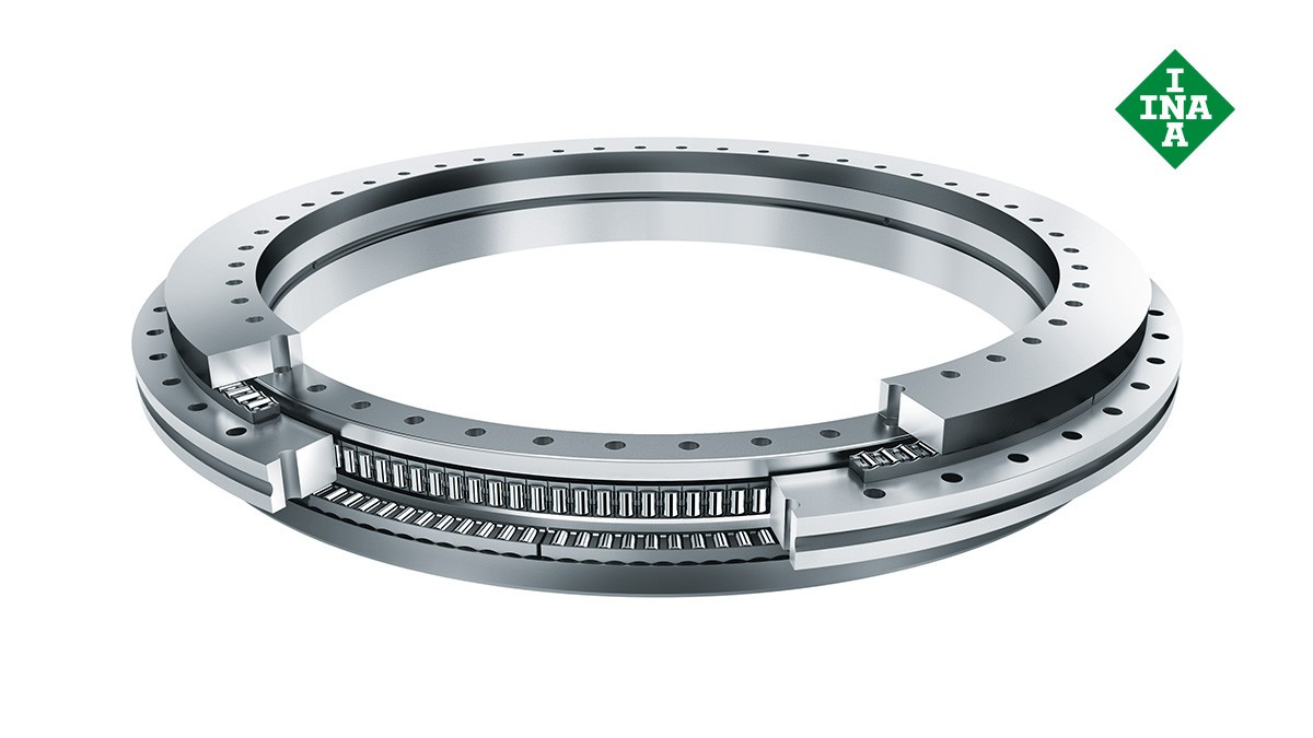 셰플러 구름 베어링과 플레인 베어링: 회전 테이블 베어링 (Rotary table bearings)