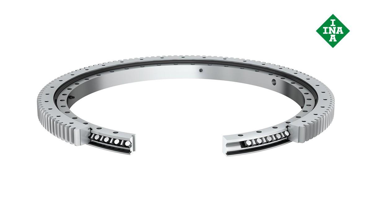 셰플러 구름 베어링과 플레인 베어링: 슬루잉 링(Slewing rings)