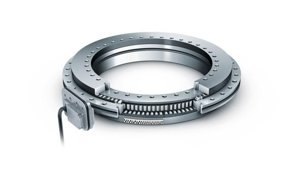 셰플러 구름 베어링과 플레인 베어링: 일체형 측정 시스템을 갖춘 액셜-레이디얼 베어링 (Axial-radial bearings with integral measuring system)