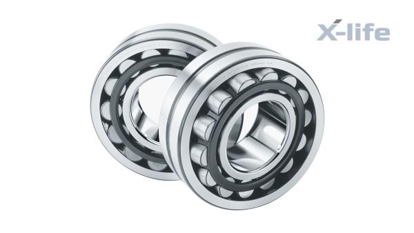 셰플러 구름 베어링과 플레인 베어링: 진동 기계용 스위블 조인트 롤러 베어링 (Swivel-joint roller bearing for vibration machines)