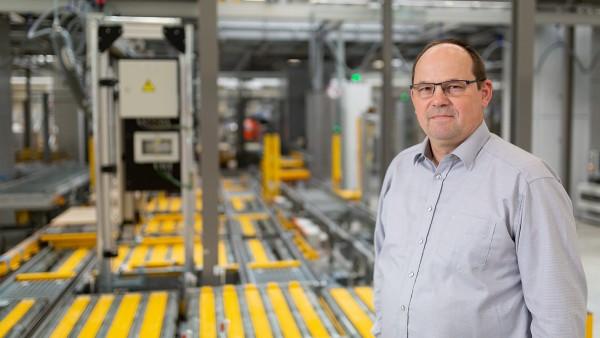 Egon Grief, Maintenance Manager at Schaeffler's EDC Central
