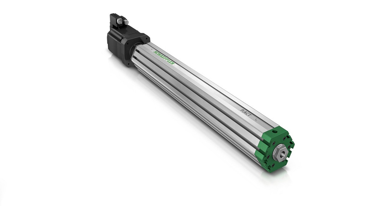 Schaeffler P.ACT, modular actuator platform with outstanding power density for flexible configuration